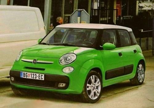 Fiat представит в Женеве новый компактный MPV