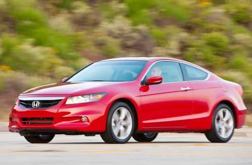 Купе Honda Accord текущего поколения