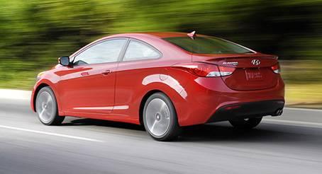 Купе Hyundai Elantra