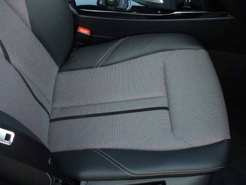 Комбинированная отделка сидений BMW 1-й серии