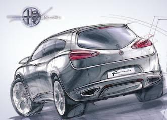 Концепт-кар Alfa Romeo Kamal
