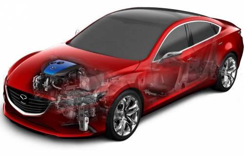 Концепт-кар Mazda Takeri