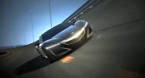 Концепт нового Acura NSX попиарили в Gran Turismo 5