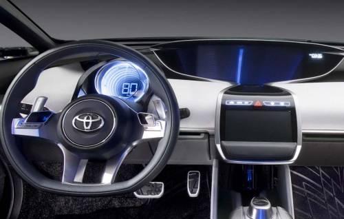 Интерьер Toyota NS4