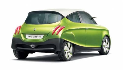 Габаритная длина пятидверного прототипа Suzuki составляет 3,55 метра