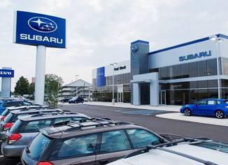 Дилерский салон Subaru