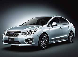 Серийный седан Subaru Impreza