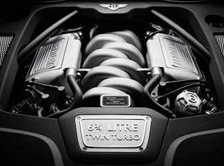 Классический двигатель V8 объемом 6,75 литра