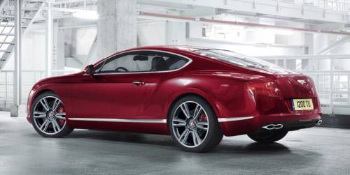 Купе Bentley Continental GT