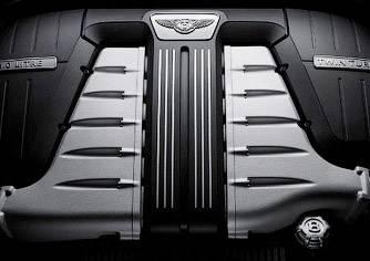 Мотор Bentley W12
