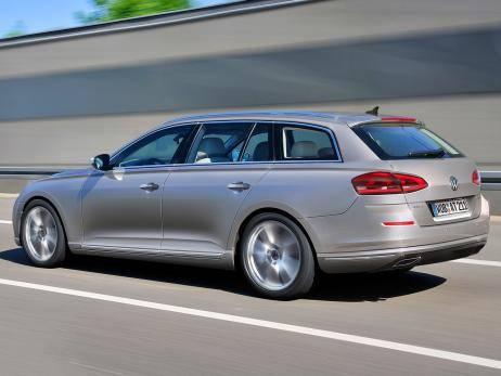 VW Passat Variant – самая ожидаемая новинка среди семейных универсалов в Германии