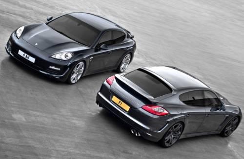 Porsche Panamera wide track by Kahn