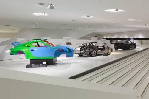 Новая специальная выставка «Уникальность 911-го» в музее Porsche