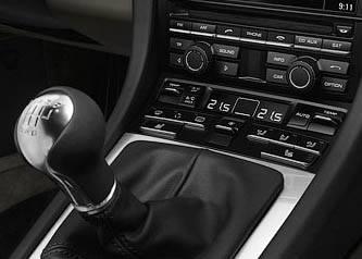 """Рычаг """"механики"""" на Porsche 911 Carrera"""