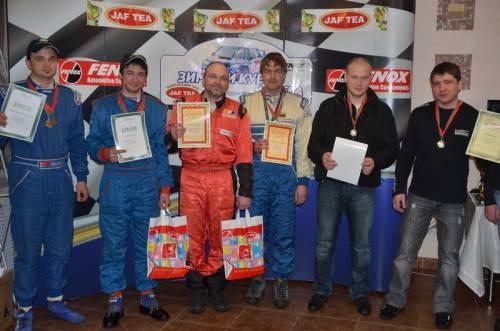 Награждение победителей и подведение итогов зимнего кубка Jaf Tea