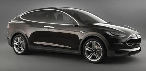 Tesla создала электрический кроссовер Model X