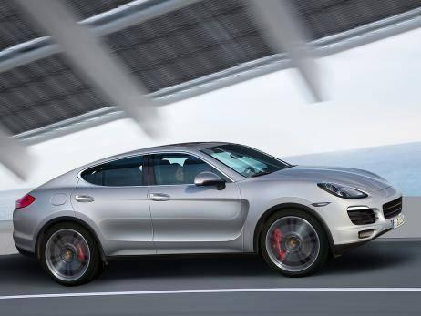 Porsche Cayenne Coupe выедет на дороги в 2015 году