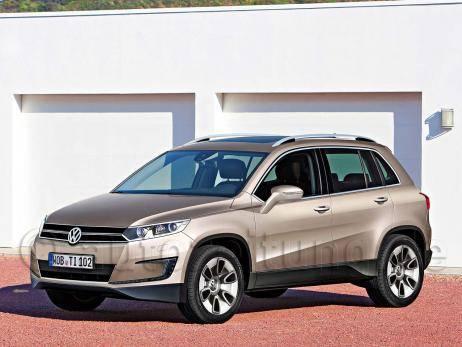 VW Tiguan-2. Выход намечен на 2013 год