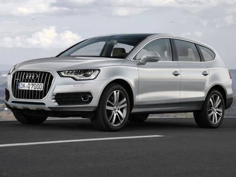 Новое поколение Audi Q7 сбросит целых 400 кг. Выход на рынок запланирован на 2013 год