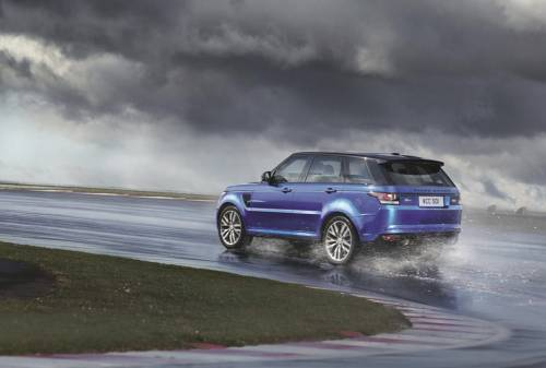 Компания Land Rover представила Range Rover Sport SVR