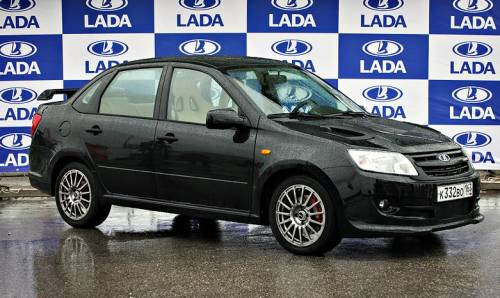 Cпортивная Lada Granta получит несколько версий