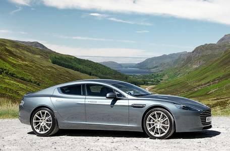 Компания Aston Martin представила обновленный спорткар Rapide S