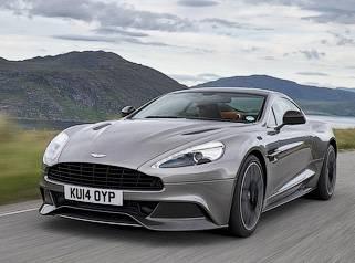 Компания Aston Martin представила обновленный спорткар Vanquish