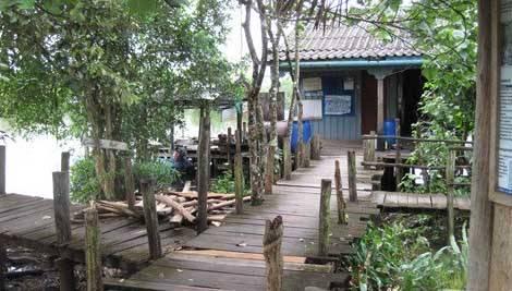 Лодочная станция национального парка