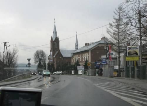Наутро Польша провожала нас дождем по всей своей территории и костелами, в каждом населенном пункте