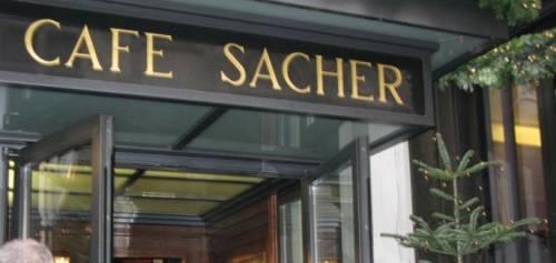 Кафе «Захер». Вена