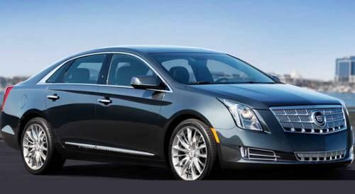 Компания Cadillac выложила первую официальную фотографию нового флагманского седана  XTS