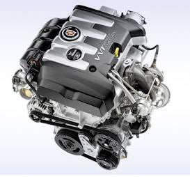 Двухлитровый турбодвигатель Cadillac