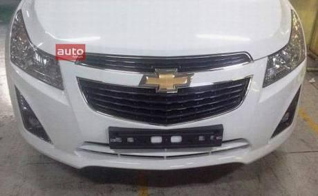 Chevrolet Cruze готовится к обновлению