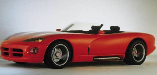 Dodge Viper RT10 Concept, 1989