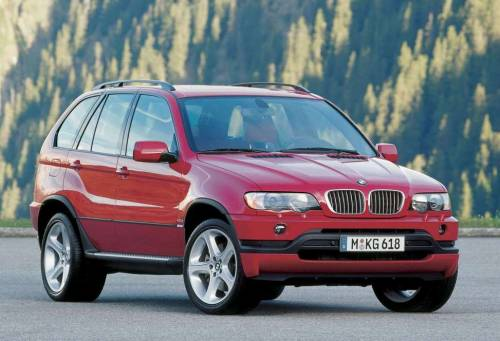 BMW X5 4.6is, 2002